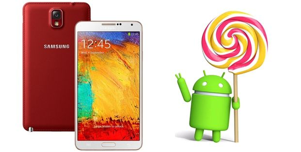 Galaxy Note 3 Neo - Android 5.0 Lollipop