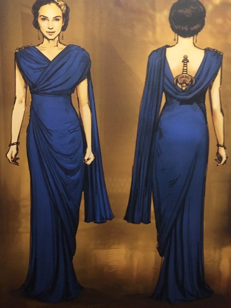 Wonder woman costume leggings-5661