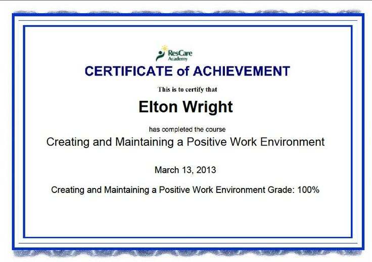 Creating And Maintaining A Positive Work Environment