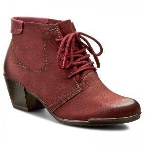 Magasított cipő TAMARIS - 1-25115-27 Bordeaux 549