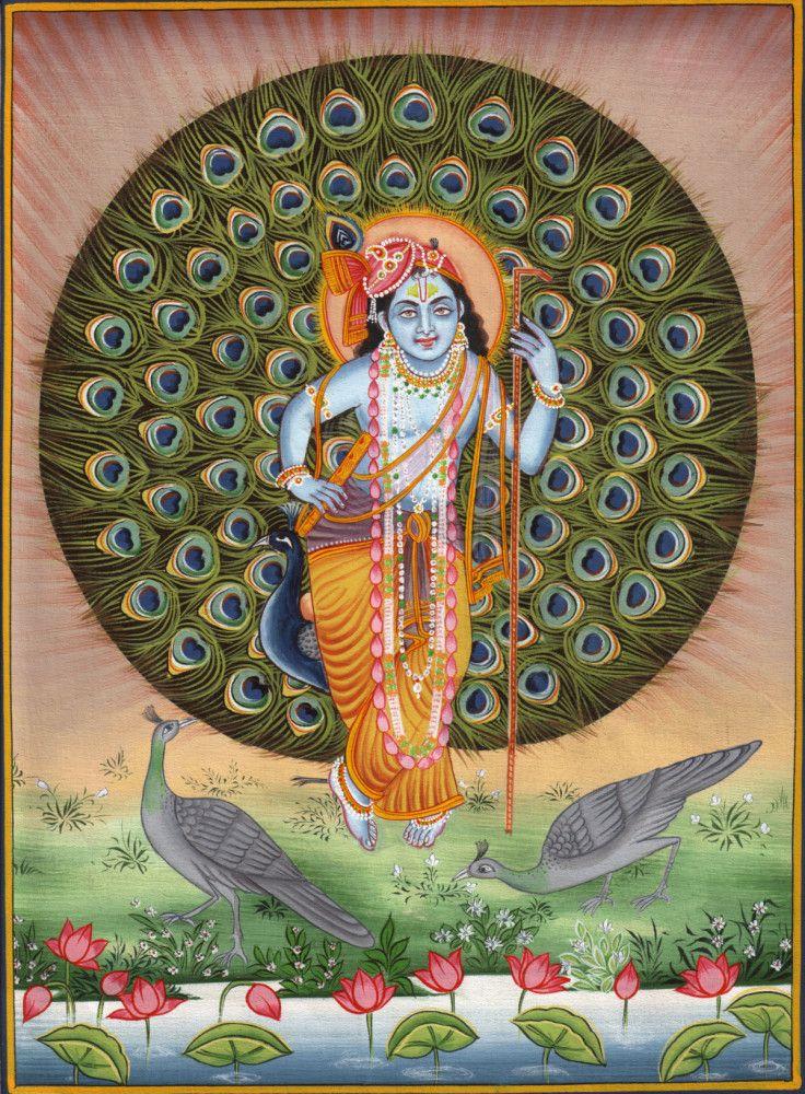 Krishna Hindu Indian Art