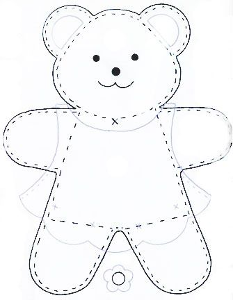 modello orsetto
