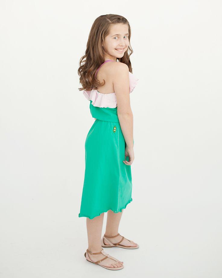 Peekaboo Beans - Seashore Dress