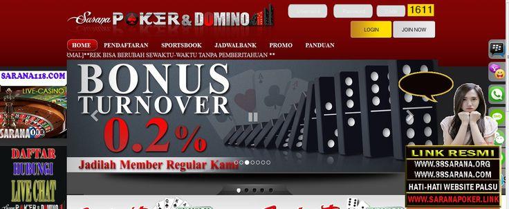 SARANAPOKER – Agen Poker Online, DominoQQ Terpercaya