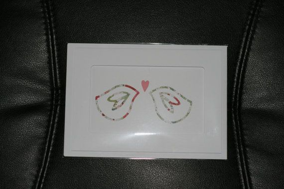 Love Birds hand made card by lovewithcards on Etsy, £1.01