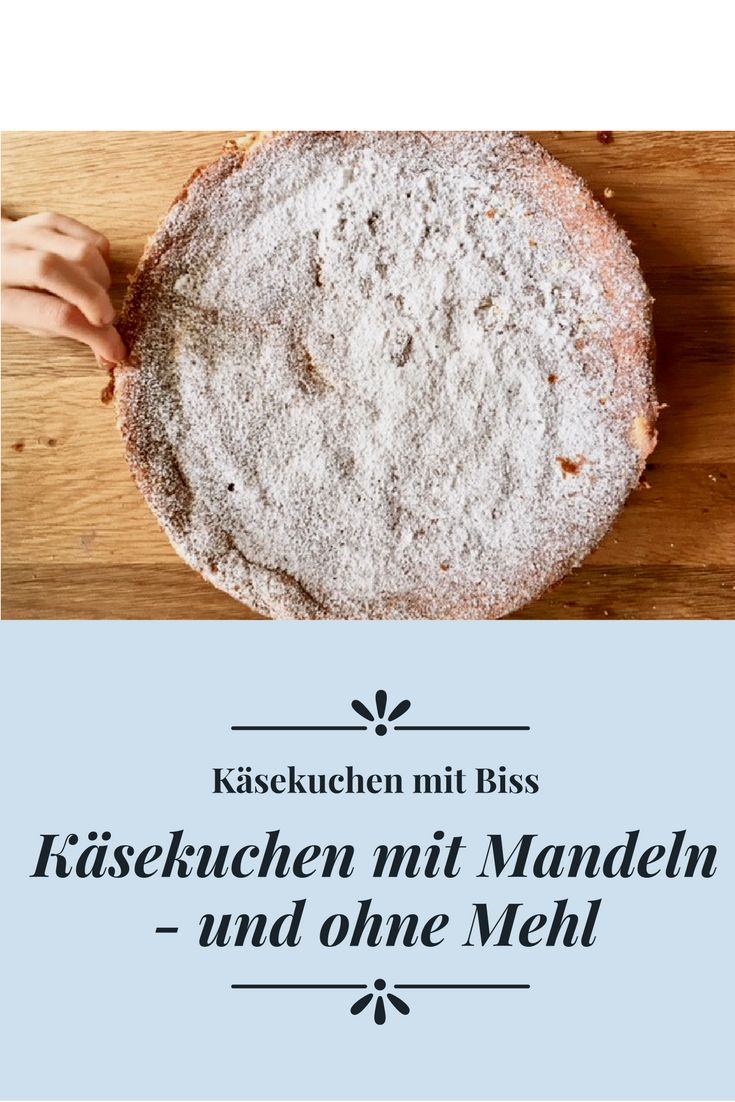 Rezept für Mandelkuchen ohne Mehl – dafür mit Frischkäse