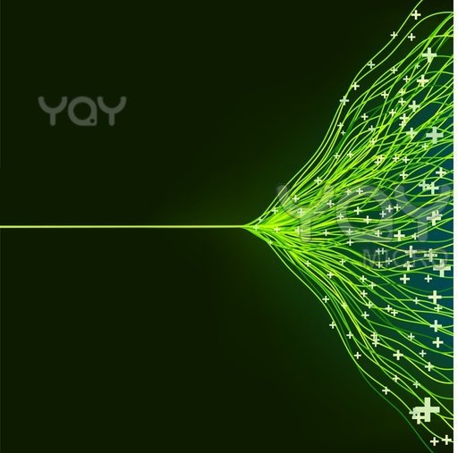 Royalty Free Vector of Abstract Green Energy Design. EPS8
