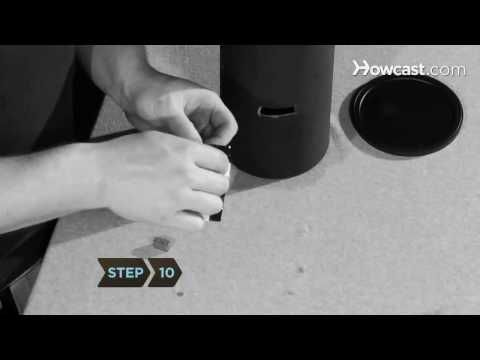 how to make a pinhole camera out of a can