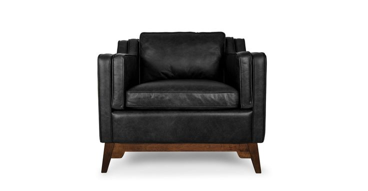 Worthington Oxford Black Armchair