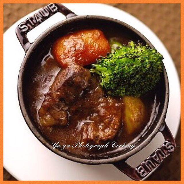 ☆ ☆ d(*ゝ∀︎・*)b #今日の夜ごはん  自家製デミグラスソースdeビーフシチュー ☆ #ビーフシチュー #beefstew #シチュー #stew  #自家製デミグラスソース #デミグラスソース  #demiglacesauce #牛肉 #beef #牛肉料理  #肉 #肉料理 #お肉大好き #牛肉大好き  #ビールに合う #ワインに合う #お酒に合う  #今日のごはん #おうちごはん #我が家の人気メニュー  #夜ごはん #晩ごはん #夕食 #dinner  #料理 #cooking #男の料理 #料理男子 #優哉cooking