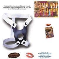 Her türlü ve boyutta testisli vantuzlu dildo ve vibratörlere uyumludur. Suni deri ve lastikten üretilmiştir. Lastikleri sayesinde her bedende kullan