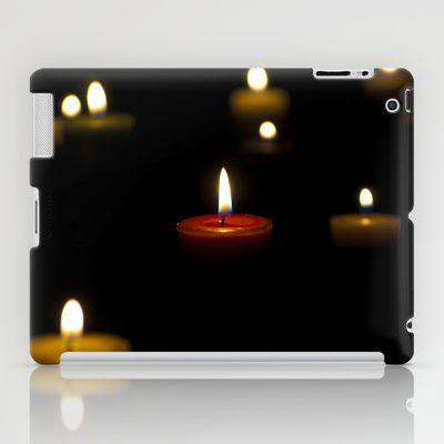 Dark candles iPad Case by Oscar Tello Muñoz - $60.00