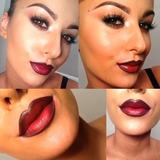 Diva lipstick and Nightmoth lip liner from MAC | Makeup ...
