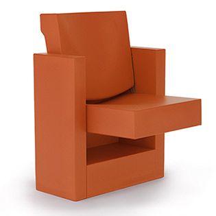Auditorium chair, Mura, designed by Gino Gamberini