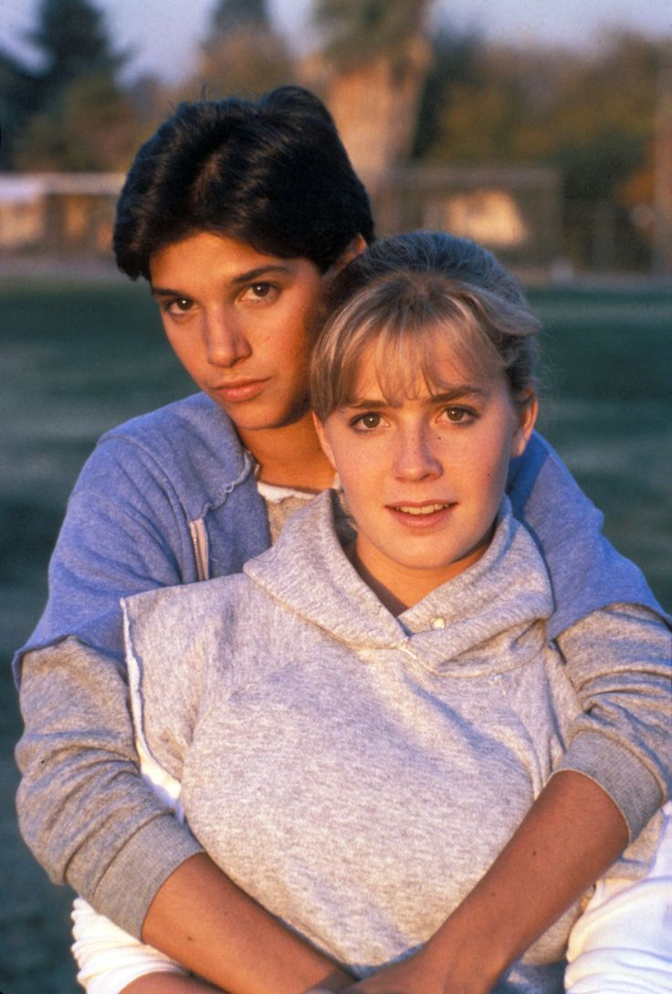Ralph Macchio and Elisabeth Shue in The Karate Kid (1984)