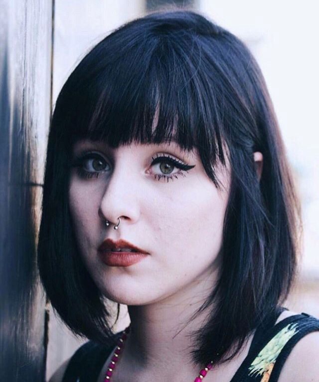 17 Best Images About Black Hair And Pale Skin On Pinterest