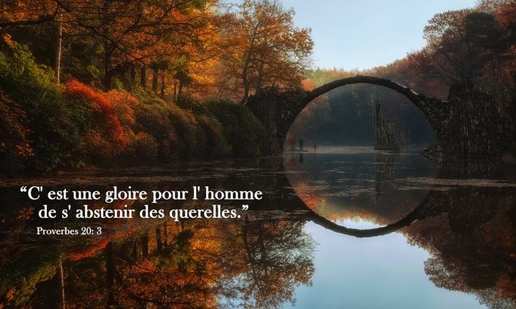 Proverbes 20: 3