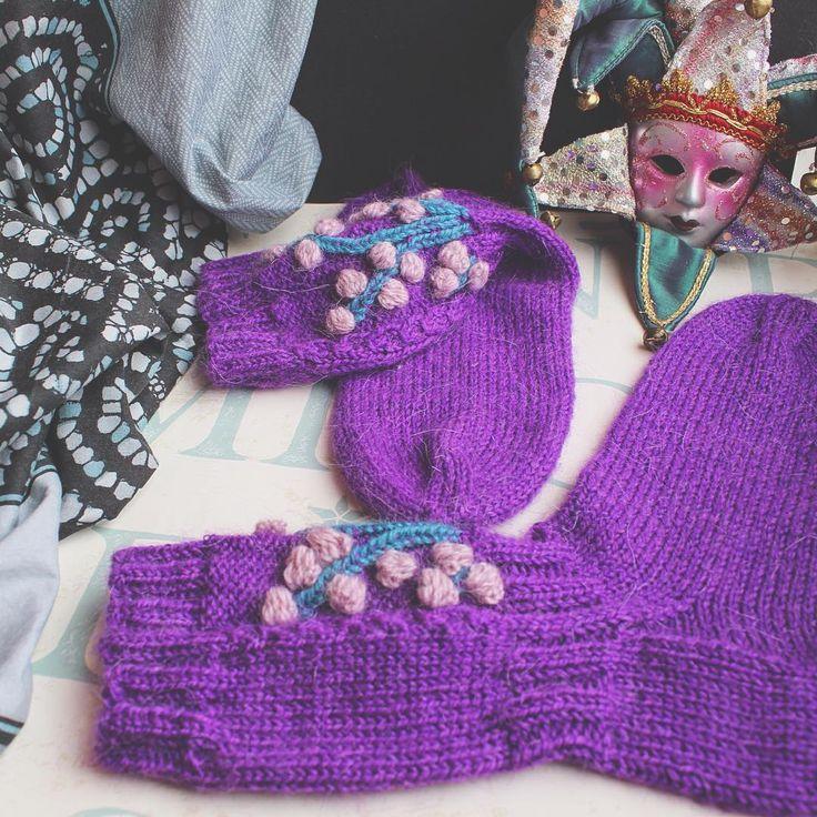 Ещё немного деталей для #носки_knitted_dreams_magazine #вязаныевещи #носки#socks #handmade #juliagoffman #handknit