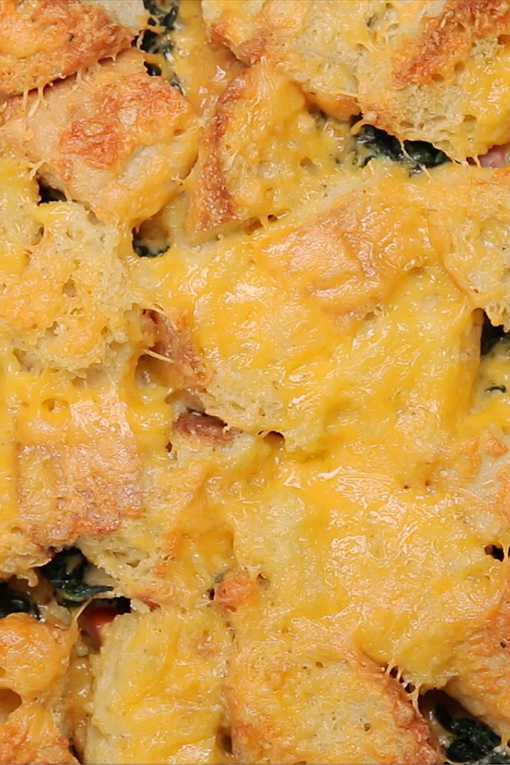 Easy Brunch Strata Bake