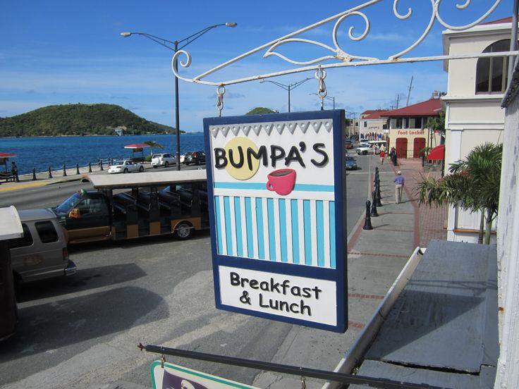 Bumpa's In Saint Thomas Virgin Islands-Best breakfast, July, 2014
