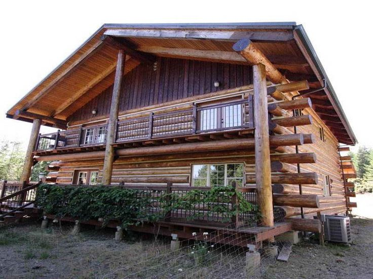 Small log cabin kits with medium size no place like home for Eco cabin kits