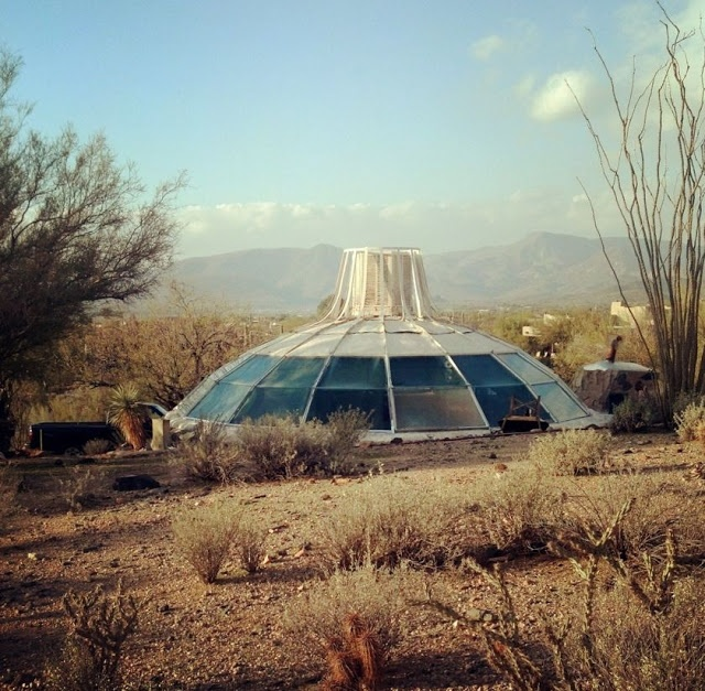 Construction Concrete Dome Home: 15 Best Paolo Soleri Images On Pinterest