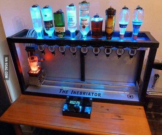 Ultimate At Home Bar