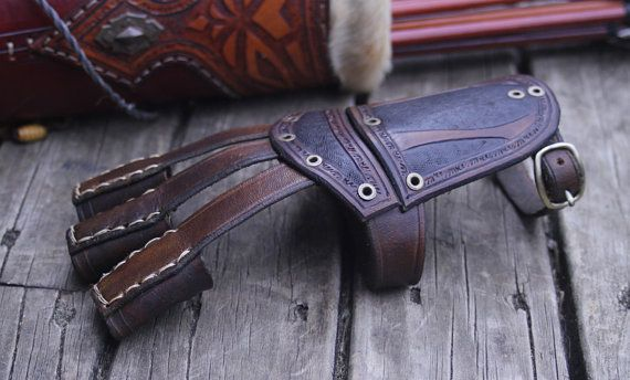 Hey, I found this really awesome Etsy listing at https://www.etsy.com/uk/listing/267836226/genuine-leather-tooled-archery-glove