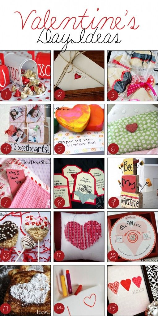 Over 50 fab Valentine's Day ideas