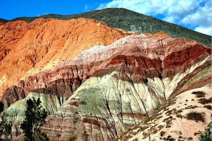 cerro de los siete colores, Purmamarca, Jujuy, Argentina