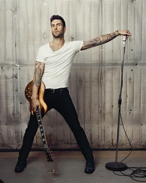 Adam Levine. Total eye candy.