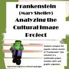 The cultural image of Frankenstein is actually that of the monster, even though the creature has no name. Halloween costumes and cartoons label Frankenstein as a green skinned monster with bolts on his neck. His speech is only grunts. But this is all at great odds with the creature from the book. Students will research and analyze the cultural image of Frankenstein's monster in a multimedia project. $