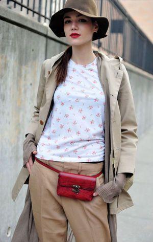 ちょっと荷物を入れていくのに大活躍♡ウエストポーチのコーデ☆スタイル・ファッションの参考に♪
