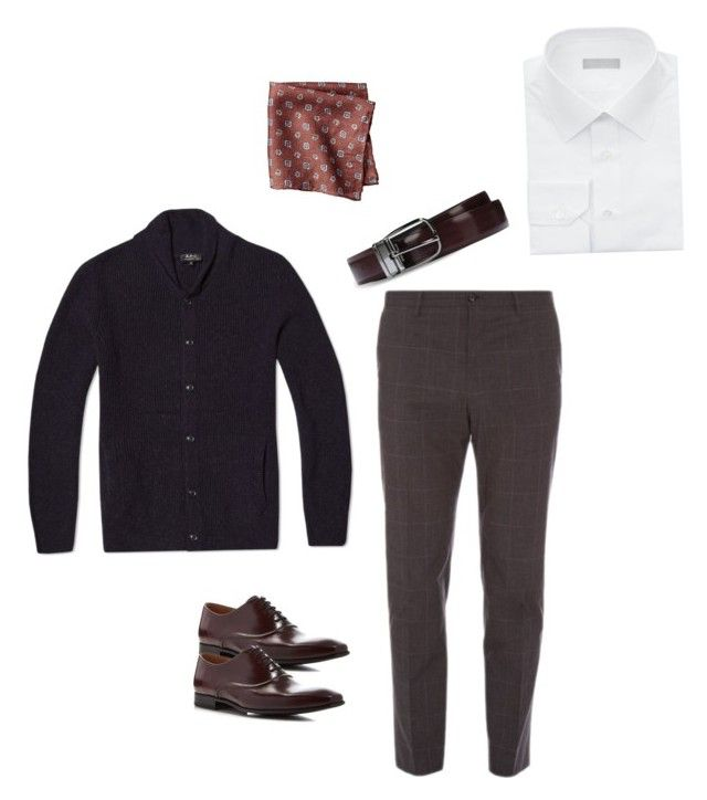 """""""Smart Casual Man"""" by alisonstylecoaching on Polyvore featuring Dolce&Gabbana, Paul Smith, Stefano Ricci, A.P.C., women's clothing, women, female, woman, misses and juniors"""