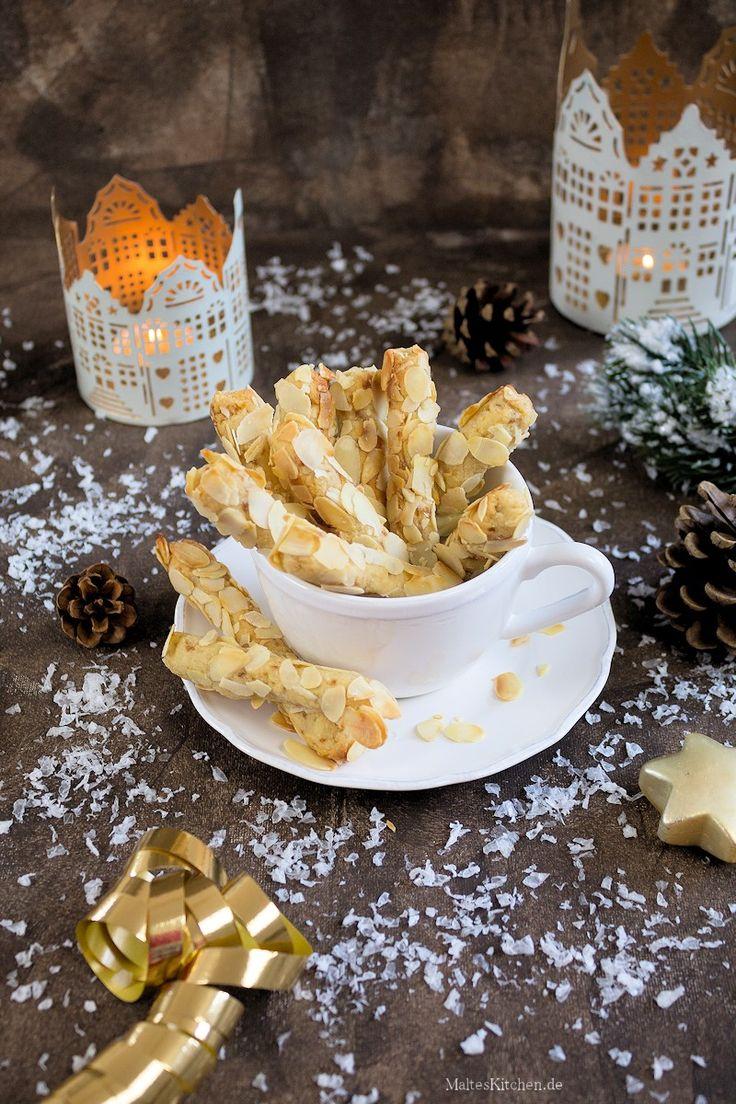 Mandel und Marzipan Weihnachtsplätzchen
