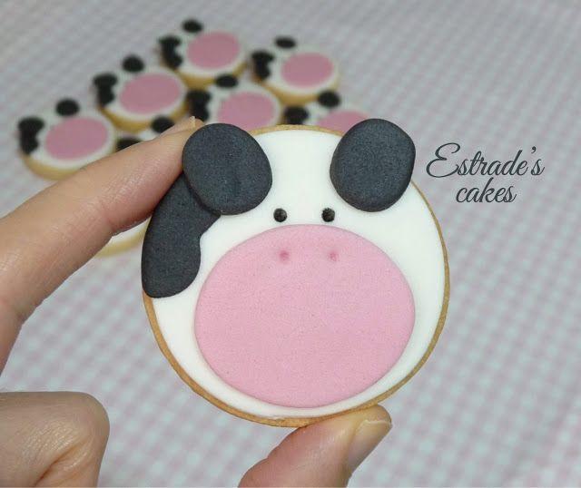 Estrade's cakes: galletas infantiles de vacas.