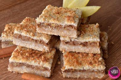 """Vegán és paleo almáspite      Végtelenül egyszerű, csökkentett energiatartalmú, """"mindenmentes"""" almás pite morzsa sütemény (paleo ésvegán süti recept)  (tojásmentes, tejmentes, gluténmentes, szójamentes, olajos magoktól mentes)  Az almáspite morzsa süti készítését a Fem3 Cafe-ba is bemuta"""