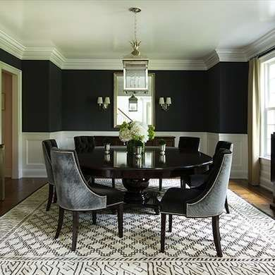 213 Best Dining Rooms Bob Vila's Picks Images On Pinterest Gorgeous Black And White Dining Room Decorating Design