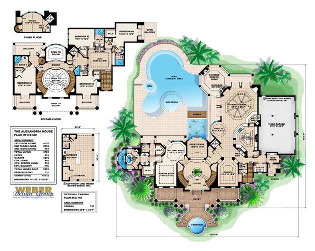 Alexandria House Plan   Georgian House Plan   Weber Design Group