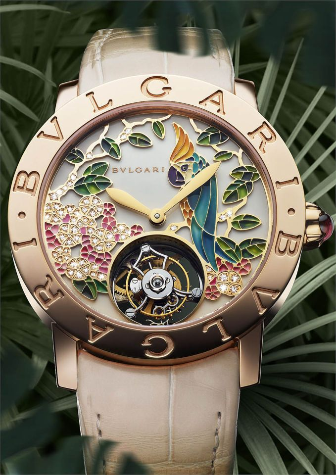 Bulgari, why you do this to me? Considering selling one of my offspring for this watch. What a beautiful piece!!