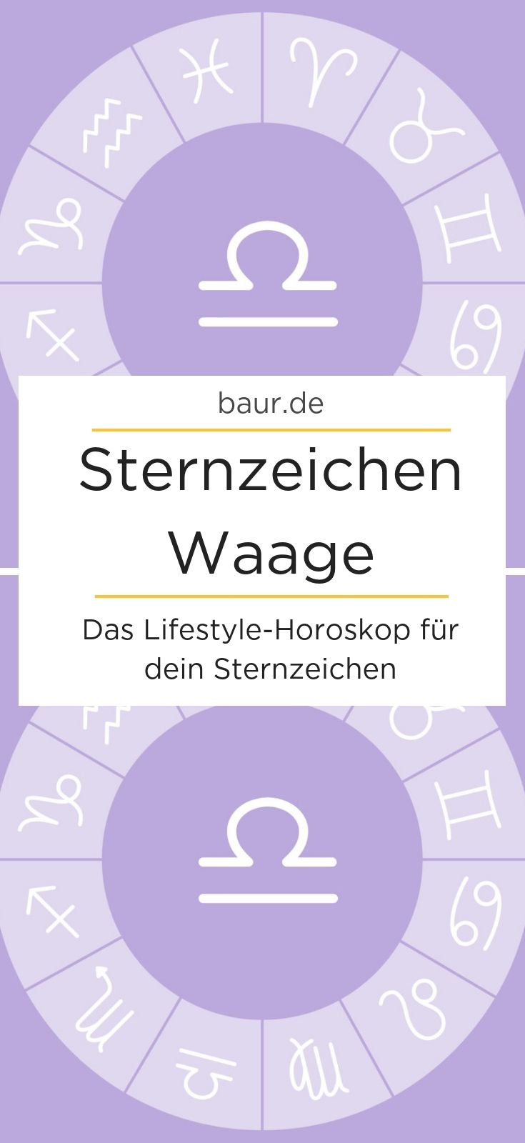 Horoskop waage frau single