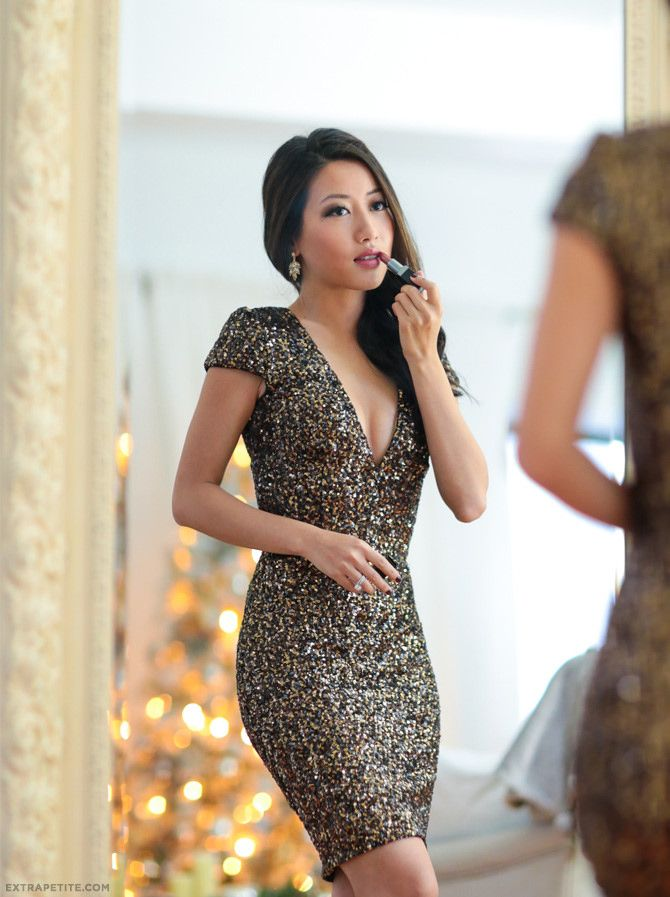 Dress The Population Zoe Sequins 10 Colors Cute For