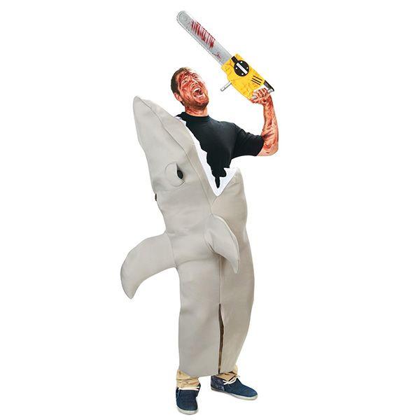【楽天市場】サメ 大人用 コスチューム 人食いざめ シャーク 衣装 ハロウィン 恐怖系 コスプレ 仮装:アカムス楽天市場店