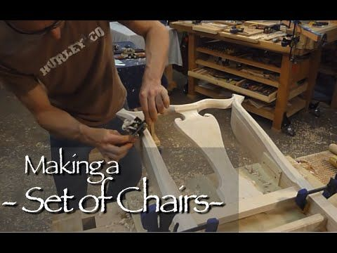 Queen Anne Chair Building Process by Doucette and Wolfe Furniture Makers - YouTube