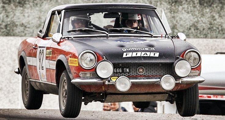 1974 Fiat 124 Sport Spider 1.8 Rally