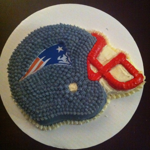 Cake Design England : New England Patriots Cake cake ideas for future orders ...