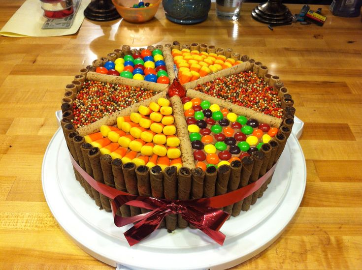 halloween candy cake ideas decorations