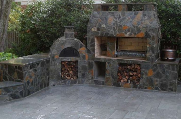 Barbecue in muratura (Foto) | PourFemme