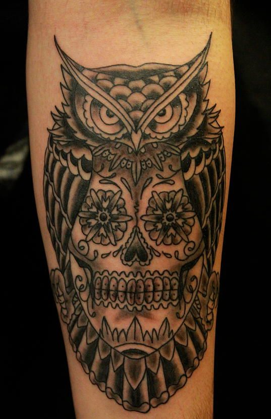 owl american traditional tattoos - Google Search