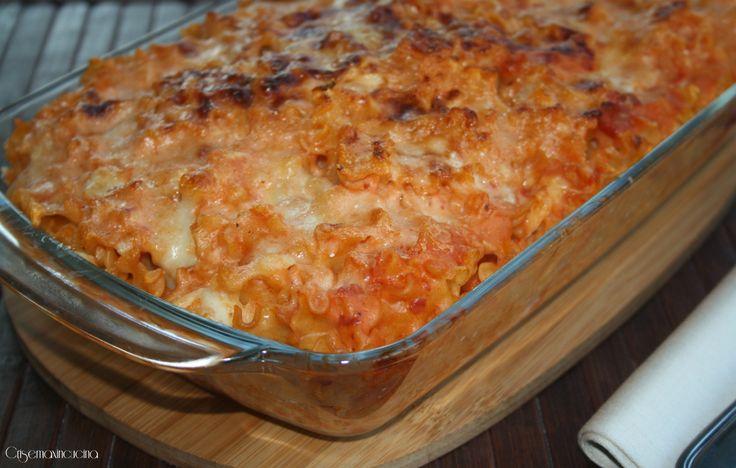 Mafalde corte al forno, ricetta primo piatto